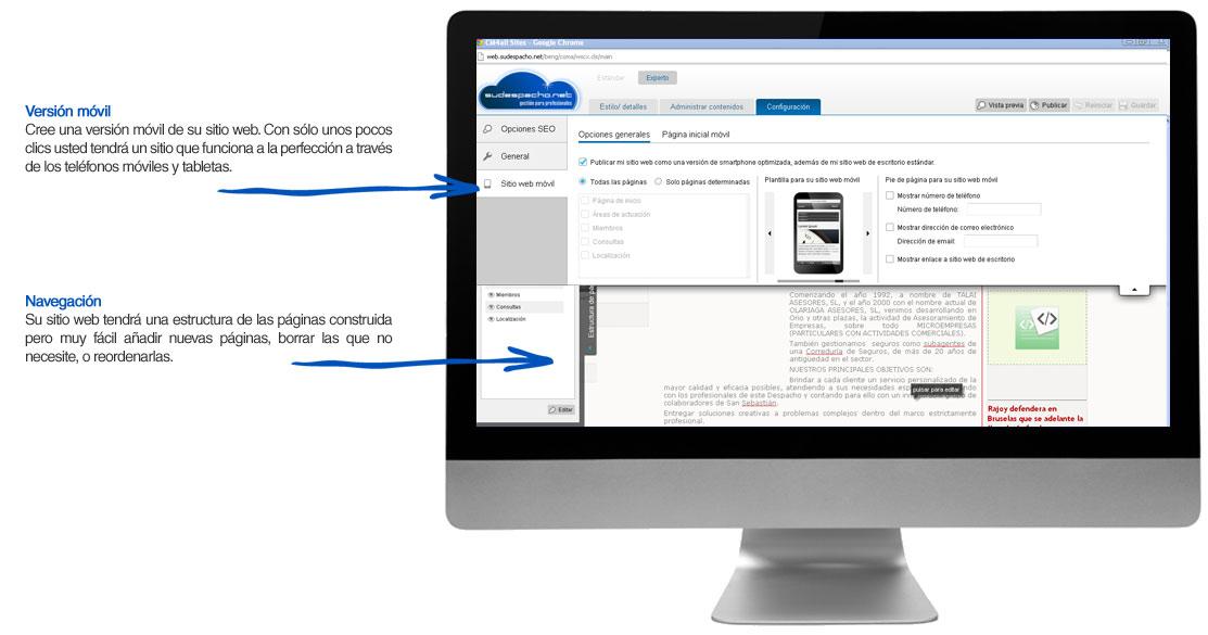 Crear una página web responsive